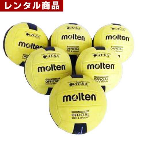 【レンタル】 ドッヂボール 6個セット ドッヂボール協会認定品 空気入れ付