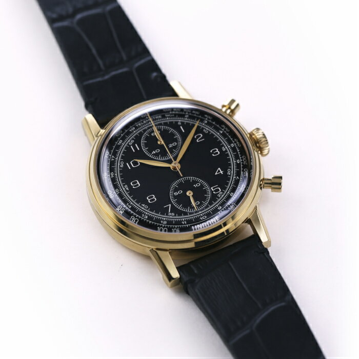 UNDONE URBAN NAVI メカクォーツ 腕時計 ブラック