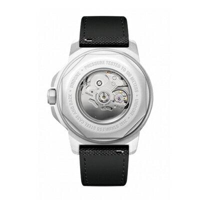UNDONE AQUA CERAKOTE 腕時計【自動巻機械式 セラコーテ ホワイトケース K1強化鉱物ガラス グリーン ラバーベルト】
