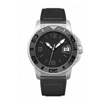 UNDONE AQUA CERAKOTE 腕時計【自動巻機械式 セラコーテ ホワイトケース セラミック ブラック ラバーベルト】