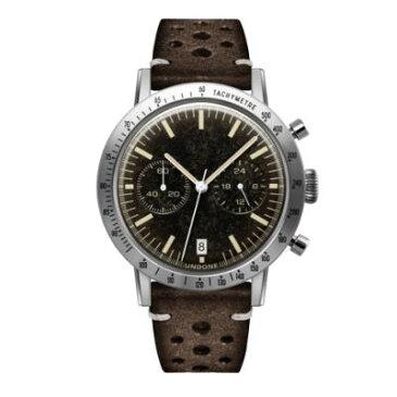 UNDONE URBAN TOROPICAL 腕時計 メカクォーツ Caribbean Dial【ステンレスケース チョコブラウンベルト】