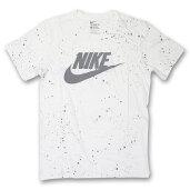 メール便送料無料!!NIKEHAZARDOUSSPECKLET-shirtsナイキハザードスペックル半袖Tシャツドリップペイントグラフィックホワイトリフレクター