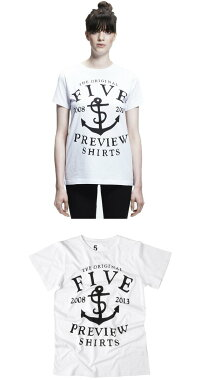 5PREVIEW(ファイブプレビュー)NEWHOPETEE(WHITE)[クルーネック/UNISEX][ホワイト]