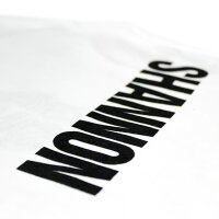 CHRISTOPHERSHANNON(クリストファーシャノン)EMBROIDEREDCSTSHIRT(WHITE)[Tシャツ/カットソー/グラフィック/ロゴ/UNISEX][ホワイト]