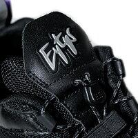EYTYS(エイティーズ)HALOLEATHER(BLACK)[ミッドトップスニーカープラットフォームスニーカー厚底スニーカーミッドカットローカットハイカットレザーシューズブランドストリートメンズレディースユニセックスUNISEX][ブラック]