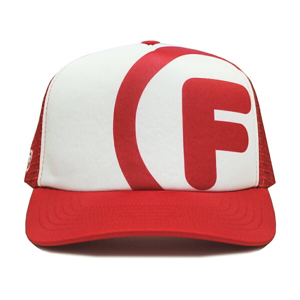 ORIGINALFANI(オリジナルファニ)BIGLOGOTRUCKERCAP(RED) トラッカーキャップスナップバック帽子