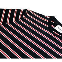 HARMONY(ハーモニー)TONIT-SHIRT(NAVYSTRIPED)[Tシャツ/カットソー/ストライプ/ボーダー/半袖/UNISEX][ネイビーストライプ]