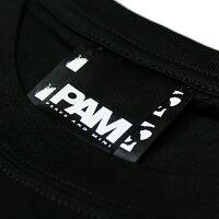 P.A.M./PERKSANDMINI(パム/パークスアンドミニ)P.A.M.(S.LOOPS)LOGOSSTEE(BLACK)[Tシャツ/カットソー/トップス/プリント/ロゴ/PAM/UNISEX][ブラック]