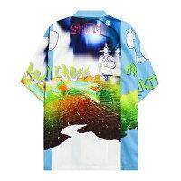 BROKENCROSS(ブロークンクロス)SPACESHIRT(MULTI)[ボタンシャツ/オープンカラー/トップス/ドレス/キューバ/アロハ/開襟/UNISEX][マルチ]
