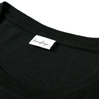 SECOND/LAYER(セカンドレイヤー)SCRIPTLOGOPOCKETT-SHIRT(BLACK)[Tシャツ/カットソー/ロゴ/ポケット/UNISEX][ブラック]