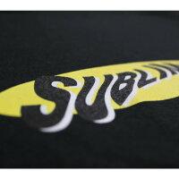 SUBLIMEPRINTSTUDIO(サブライムプリントステューディオ)SUBLIMEWARPLOGOLST-SHIRT(BLACK)[クルーネック/ロングスリーブ/ロゴ/UNISEX][ブラック]
