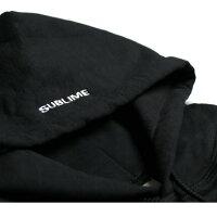 SUBLIMEPRINTSTUDIO(サブライムプリントステューディオ)SUBLIMEWARPLOGOHOOD(BLACK)[プルオーバーN/ロゴ/UNISEX][ブラック]