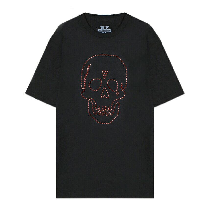 トップス, Tシャツ・カットソー VLONE x NEIGHBORHOOD ( x ) SKULL T-SHIRT (BLACKRED) T