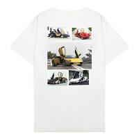 XYLK(シルク)LAMBORGHINICOUNTACHT-SHIRT(WHITE)[Tシャツ/カットソー/グラフィック/半袖/UNISEX][ホワイト]