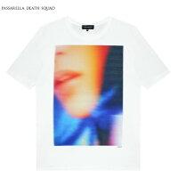 PASSARELLADEATHSQUAD×PENTHOUSE(パサレラデススクアッド)MELANIERIOST-SHIRT(WHITE)[Tシャツ/カットソー/ペントハウス/UNISEX][ホワイト]
