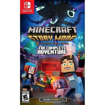 【新品・在庫あり】Nintendo Switch Minecraft Story Mode The Complete Adventure 輸入版:北米 マインクラフト ストーリーモード コンプリートアドベンチャー