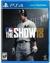 【新品】MLB The Show 18 PS4 エムエルビー...