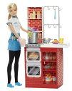 バービー レストラン パスタ屋さん スパゲッティー作り Barbie Spaghetti Chef Doll & Playset