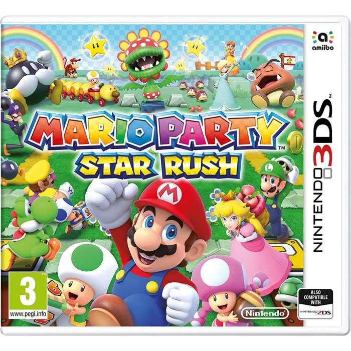 Nintendo 3DS・2DS, ソフト Mario Party: Star Rush 3DS