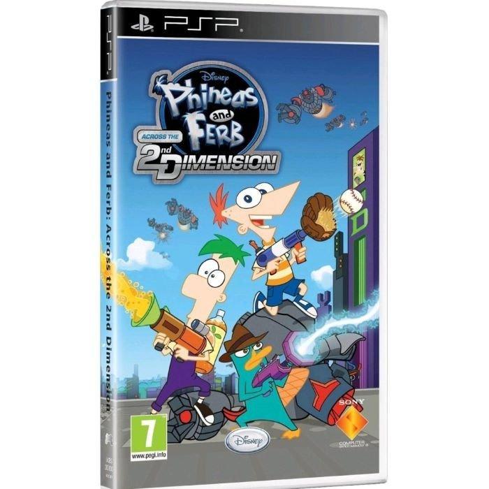 プレイステーション・ポータブル, ソフト Phineas Ferb: Across the Second Dimension PSP