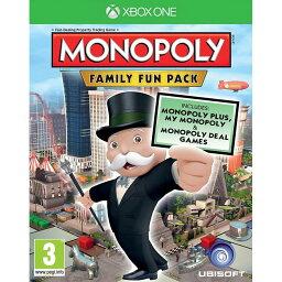 【取り寄せ】Monopoly: Family Fun Pack Xbox One 輸入版