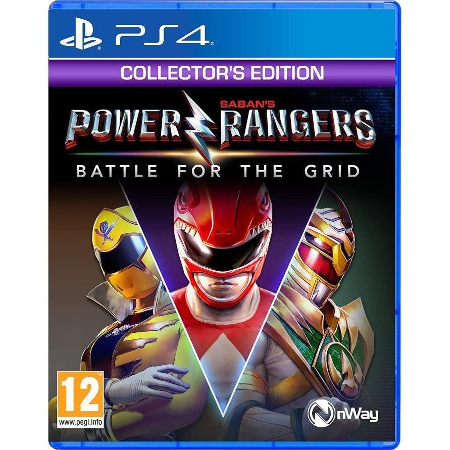 プレイステーション4, ソフト Power Rangers: Battle for the Grid - Collectors Edition PS4