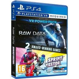 【取り寄せ】Raw Data & Sprint Vector (Double Pack) (For Playstation VR) PS4 輸入版
