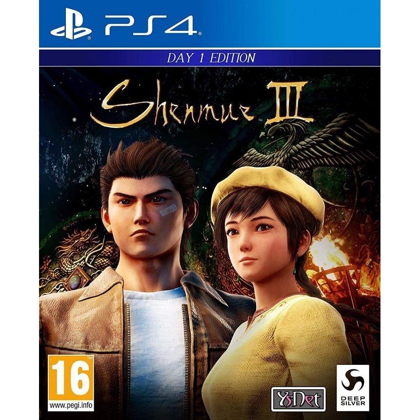 プレイステーション4, ソフト Shenmue III (3) - Day One Edition PS4
