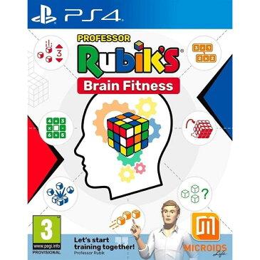 【取り寄せ】Professor Rubik's Brain Fitness PS4 輸入版