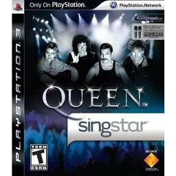 【取り寄せ】Singstar Queen No Microphone (Solus)(#) (DELETED TITLE) PS3 輸入版