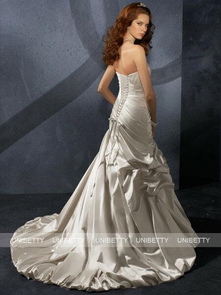 9272612c28c13 ウェディングドレス マーメイドライン 送料無料 カラードレス WS0654 ...