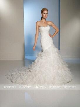 ウェディングドレス ソフトマーメイド マーメイドライン サイズオーダー 結婚式 花嫁 披露宴 二次会