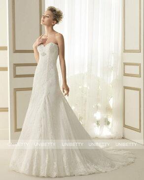 ウェディングドレス サイズオーダー 送料無料 マーメイドライン 結婚式 二次会 披露宴 ws2639