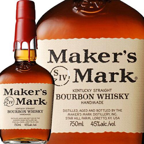 バーボン, ストレート  Makers Mark Red Top 700ml 45.0