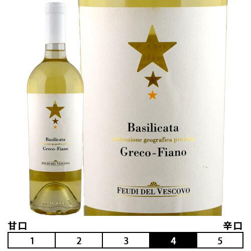 ワイン, 白ワイン 2019 750ml Feudi del VescovoGreco Fiano
