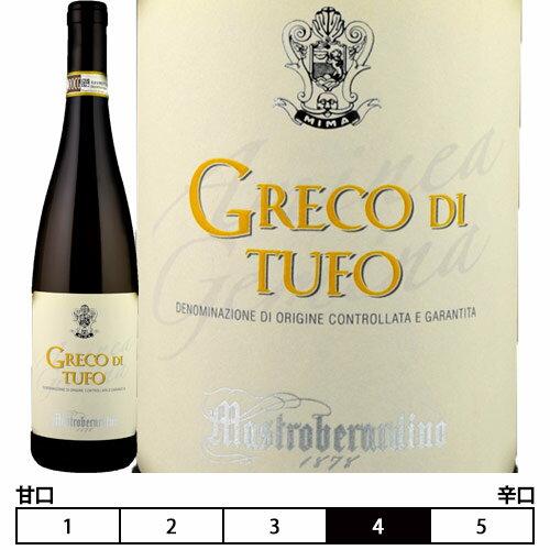 ワイン, 白ワイン 2018 750ml Mastroberardino spaGreco di Tufo
