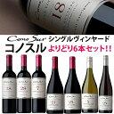 コノスル シングル・ヴィンヤード シリーズ よりどり6本セット ヴィーニャ・コノスル 赤 750ml Vina Cono Sur[Cono Sur Single Vineyard]チリ 赤ワイン 白ワイン ワインセット 送料無料