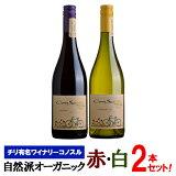 【送料無料】オーガニック赤白ワイン飲み比べ2本ワインセット チリ有名ワイナリー ヴィーニャ コノスル 自然派 ワインセット 赤ワイン 白ワイン チリワイン 有機栽培ワイン