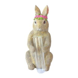 彩か(SAIKA) 置物(インテリア) 野ウサギ チューブ Glass CCI-164