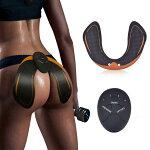 EMSトレーニングパッドヒップアップCharminerお尻専用筋トレ器具ダイエット女性男性強さ10段階調節トレーニング筋肉振動