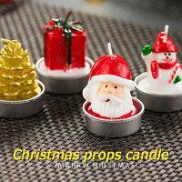 """ロマンチックなクリスマスツリークプレゼントクリスマス キャンドルメリークリスマスホーム""""のパーティーを飾りクリスマスイヴの小さなプレゼント"""