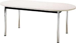 [TOKIO]TOKIOミーティングテーブル楕円型1800×900mmホワイトTC1890RW[オフィス住設用品オフィス家具会議用テーブル藤沢工業(株)]【TC】【TN】