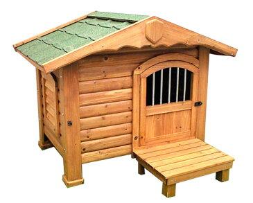 【送料無料】【犬小屋 大型犬用】ロッジ犬舎 RK-950【アイリスオーヤマ 大型犬用 犬舎 犬小屋 屋外 屋外ハウス 木製】