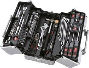 【KTC】KTC工具セット(両開きメタルケ−スタイプ)SK3560W[KTC工具セット作業用品工具セット手提げタイプ]【TN】【TC】