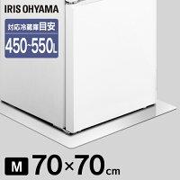 冷蔵庫下床保護パネルRPD-M 冷蔵庫 保護パネル 冷蔵庫 床 保護 パネル 透明 傷 汚れ へこみ ダメージ アイリスオーヤマ