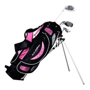 クラブセット子供用ゴルフスポーツクラブセットゴルフゴルフクラブセットUSアスリートジュニア女児用6-8才クラブ4本、オールインワンセットUSアスリート