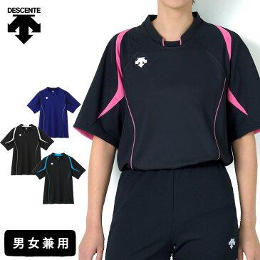 デサント バレーボール 練習着 半袖 シャツ 男女兼用 メンズ レディース DSS-5520