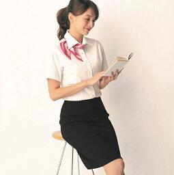 アンジョア スカート 56610 レディース 春夏 ネイビー ブラック 17号-19号 事務服 制服 可愛い 大きいサイズ