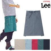 【Lee×ボンマックス】LCK79004ミドルエプロンフリーサイズリーデニムエプロンおしゃれ人気男性用女性用父の日ギフトサロンエプロン