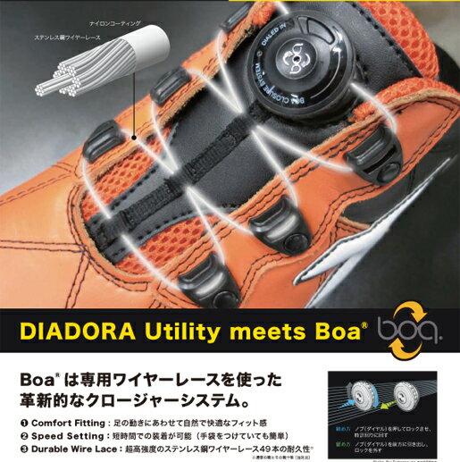 【安全靴】ディアドラ安全靴スニーカーFINCHフィンチDIADORA